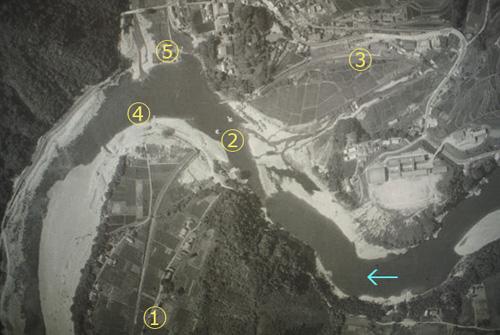 流失後の第一江川橋梁