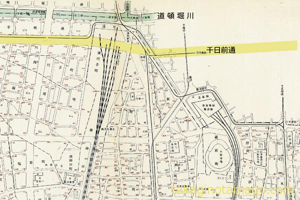 湊町駅付近【1961】