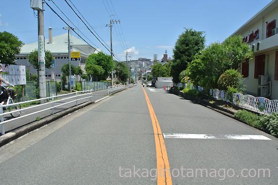 春日町から島熊山方向を望む
