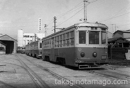 大阪市電港車庫1701型