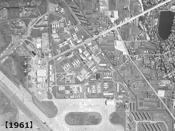 1961年の伊丹空港