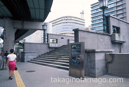 錦橋付近の高架橋梁