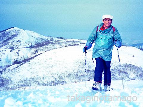山スキーを楽しむ村上隆造さん