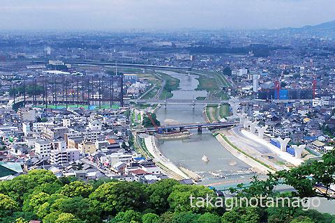 猪名川第1橋梁の工事進捗
