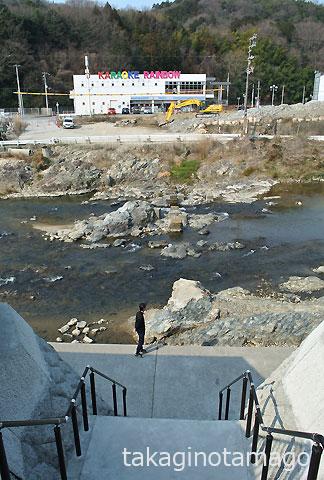 多田院の流れ橋跡