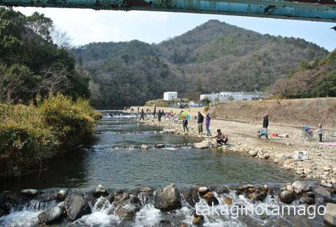 北田原の鱒釣り場