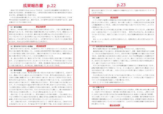 成果報告書の盗用箇所p.22-23