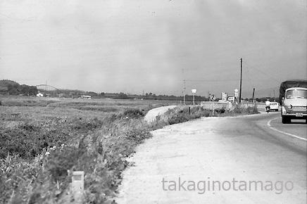 京阪国道 府境の小金井橋付近