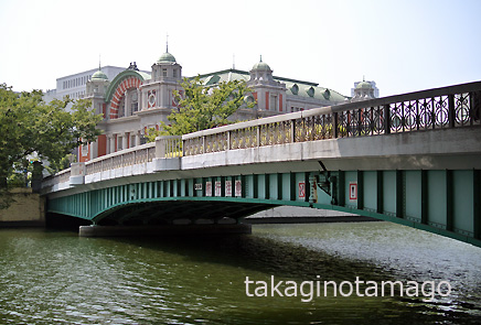 鉾流橋と中央公会堂