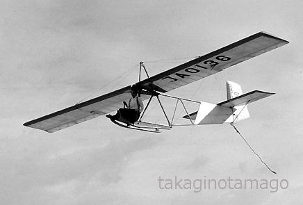 淀川を飛ぶ霧ヶ峰式はとK-14型
